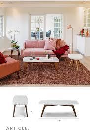 vena rectangular coffee table coffee
