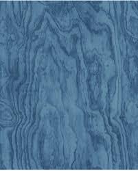 Bolcom Restored Plywood Blauw Behang Vliesbehang Blauw