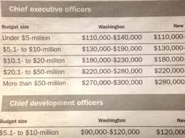 Nonprofit Ceo Salaries Chart Span Charts When Youve Only Got The Min And Max Depict