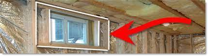 framing basement windows i finished
