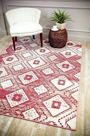 pink abstract contemporary area rugs 9x12