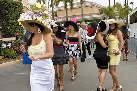 Del Mar Thoroughbred Club Seating Chart Horse Racing Season Kicks Off At Del Mar Racetrack With Hats