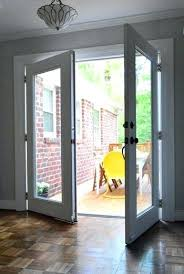 replace door with window replace sliding glass doors with french doors as they did here repair