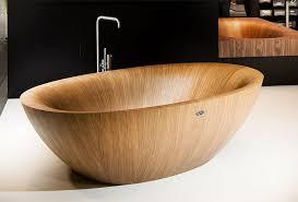 view in gallery standalone wooden bathtub design model