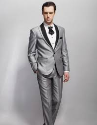 Mens Light Grey Wedding Suits Us 84 36 5 Off Men Suit Light Grey Mens Wedding Suits Groomsmen Tuxedos Formal Prom Best Men 2 Pc Suits Terno Masculino Jacket And Pant In Suits