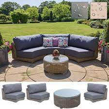 kingston curved modular sofa set b