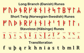 Younger Futhark Runes The Rune Set Used By Norse Vikings