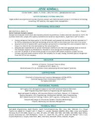 resume template  resume objective for business  resume objective    resume template  resume objective for business with professional exellence as senior business systems analyst