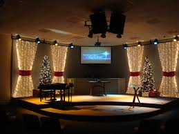 church lighting ideas. drapes and curtain packed christmas church stage design ideas they added some noid gift theme living room window treatments curtains style lighting