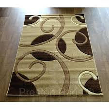 brown and cream rug red striped rugs