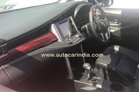 2018 toyota innova touring sport. interesting 2018 toyota innova crysta touring sport interior spied at dealership to 2018 toyota innova touring sport