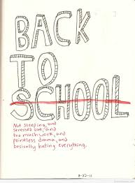 First Day Of School Quotes Pictures Sayings Cartoons 2015