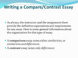 organization and structure writing a compare contrast essay as writing a compare contrast essay as always the instructor and the assignment sheet provide