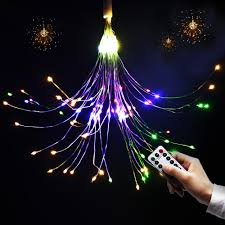 Purple Led Christmas Lights Led Christmas Lights Battery Operated Usb Remote Control Wedding Party Garland Led Fairy Diy Decorative Fireworks String Lights