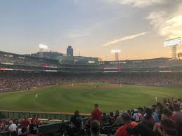 Fenway Park Section Bleacher 38 Home Of Boston Red Sox