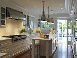Long Kitchen Transitional Kitchen Deborah Wecselman Design - Long kitchen  ideas