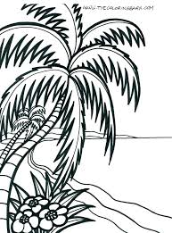 Beach Themed Coloring Pages Beach Animals Coloring Pages Beach