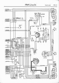 lincoln wiring diagrams 1957 1965 1964 lincoln right half