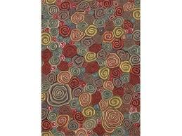 liora manne veb58310224 visions iii 3102 24 giant swirls fiesta 5 x 8 ft wool rugs