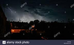 Brighton Night Light Parts Summer Weather Night Sky Stock Photos Summer Weather Night