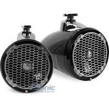 rockford fosgate pm282w b 400w 8 punch series wakeboard tower product rockford fosgate pm282w b 8 punch wakeboard tower speakers