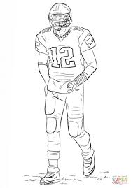 challenge nfl coloring pages broncos players copy new jovie co