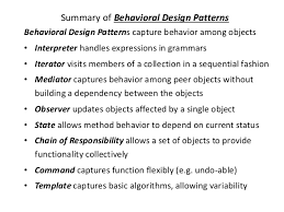 Patterns Of Behavior New Behavioral Pattern ByPriyanka Pradhan