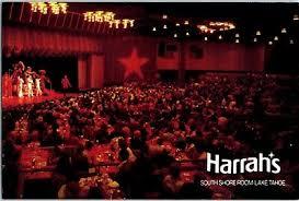 1970s Harrahs Hotel Casino South Shore Showroom Lake Tahoe