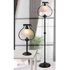 in floor lighting fixtures. Antique Country Matte Glass Shade Floor Lamp In Baking Finish 10 Lighting Fixtures H