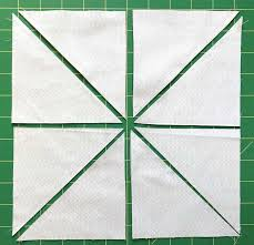 Half Square Triangle Cutting Chart Magic 8 Half Square Triangles The Seasoned Homemaker
