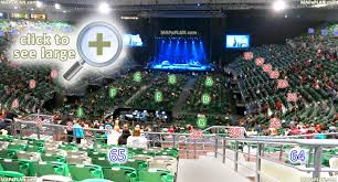 Melbourne Rod Laver Arena Seating Chart Melbourne Rod Laver Arena Seat Numbers Detailed Seating Plan