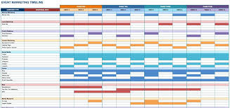 Project Schedule Sample Example Of Spreadsheet For Project