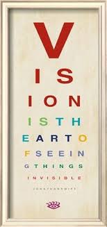 Eye Charts Used By Doctors Vision Is The Art Of Seeing Vision Art Optometry Office
