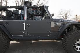 jeep wrangler jk aluminum rear half doors