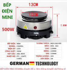 HÀNG LOẠI 1- BẢO HÀNG 6 THÁNG] Bếp điện nhỏ mini 500w hàng chuẩn bảo hành 6  tháng siêu bền đẹp