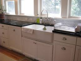 top mount farmhouse sink sinks at kitchen sink with drainboard