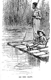 relgion vs superstition this essay is about the differences and  huck and jim on raft