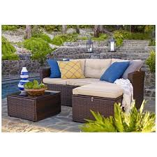 3 piece outdoor sofa patio set
