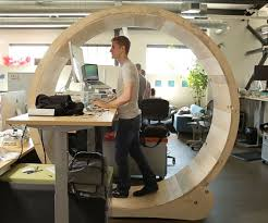 hamster wheel standing desk dudeiwantthat com