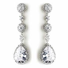 melissa earring stunning luxury teardrop