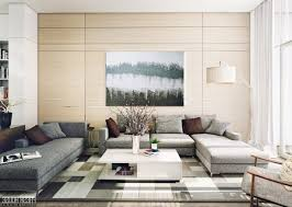 Simple Living Room Furniture Simple Living Room Designs Gray Comfy Sofa Black Stained Wall