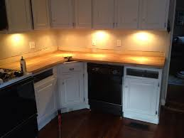 ikea under counter lighting. Stick A Fork In Them: The IKEA Butcher Block Counters Are Done! - Old Town Home Ikea Under Counter Lighting
