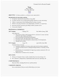 Qualifications For A Customer Service Representative 71 Marvelous Photos Of Customer Service Skills Resume