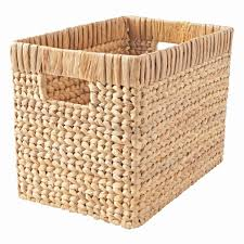 Wonderful Wicker Natural Blake Basket | Wicker storage baskets ...