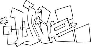 Live Graffiti Kleurplaat Gratis Kleurplaten Printen