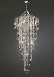 il30775 inina tall 9 light crystal chandelier