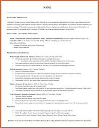 Format A Resume Moa Format