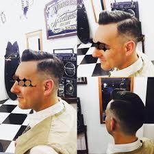 バーバースピークイージーさんのヘアスタイル Classic Part Po
