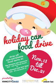 Fundraiser Poster Ideas Holiday Food Drive Flyer Template Fundraiser Poster Design Ianswer