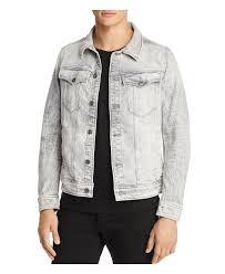 Light Gray Denim Jacket Deconstructed 3d Denim Jacket
